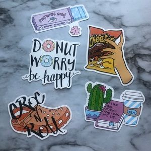 Other - Cute Stickers Set (1)